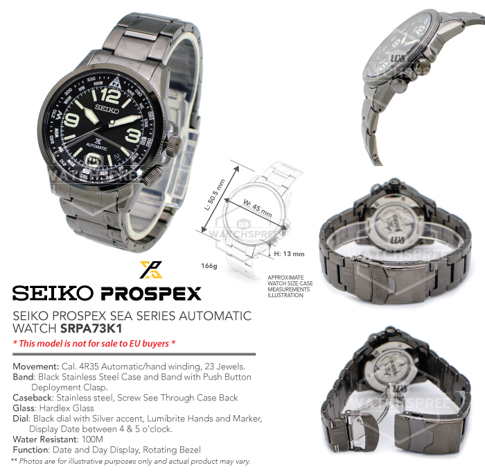 Buy [SEIKO] PROSPEX Collection  Automatic Diver Solar Chronograph Kinetic  Watches  Free Box and Warranty Deals for only S$1224 instead of S$0
