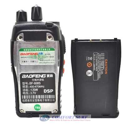 Baofeng BF - 888S VHF / UHF FM Transceiver Walkie Talkie
